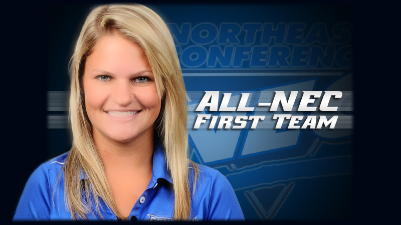 Ludwig, Ausanio Earn NEC Honors