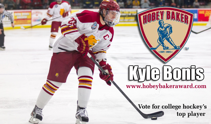 Vote FSU's Kyle Bonis As College Hockey's Top Player!
