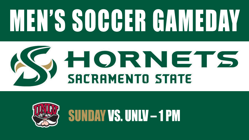 MEN'S SOCCER HOSTS UNLV SUNDAY