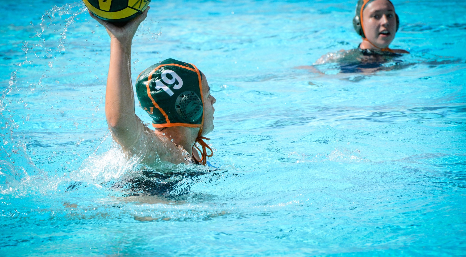 Women's Water Polo cruises past Penn State Behrend 12-4