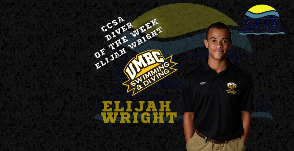 Wright Earns His Fifth CCSA Diver of the Week Honor
