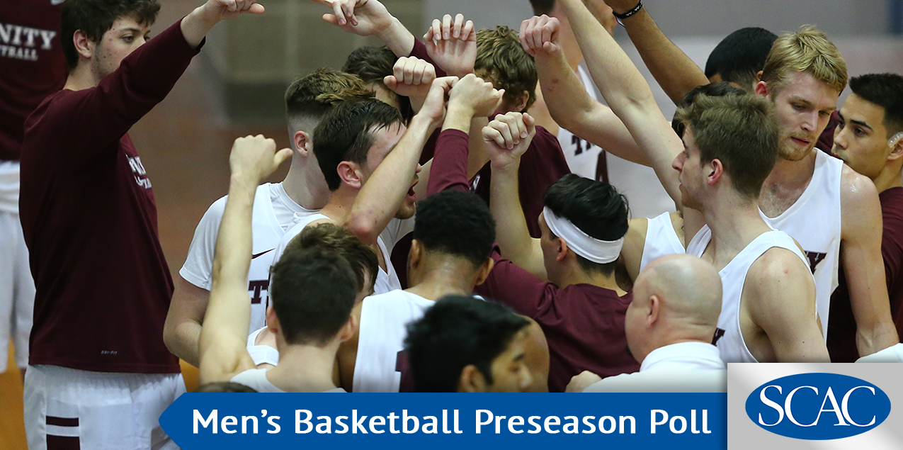 Trinity Tops Men's Hoops Preseason Poll