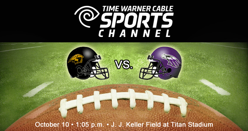 Wisconsin Badgers Football Time Warner Cable: Time Warner Cable To Televise UW-Oshkosh UW-Whitewater Football rh:uwoshkoshtitans.com,Design