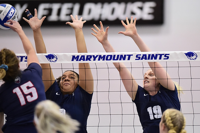 Behrend Volleyball Remains Undefeated in AMCC Action; Lions Defeat Mt. Aloysius