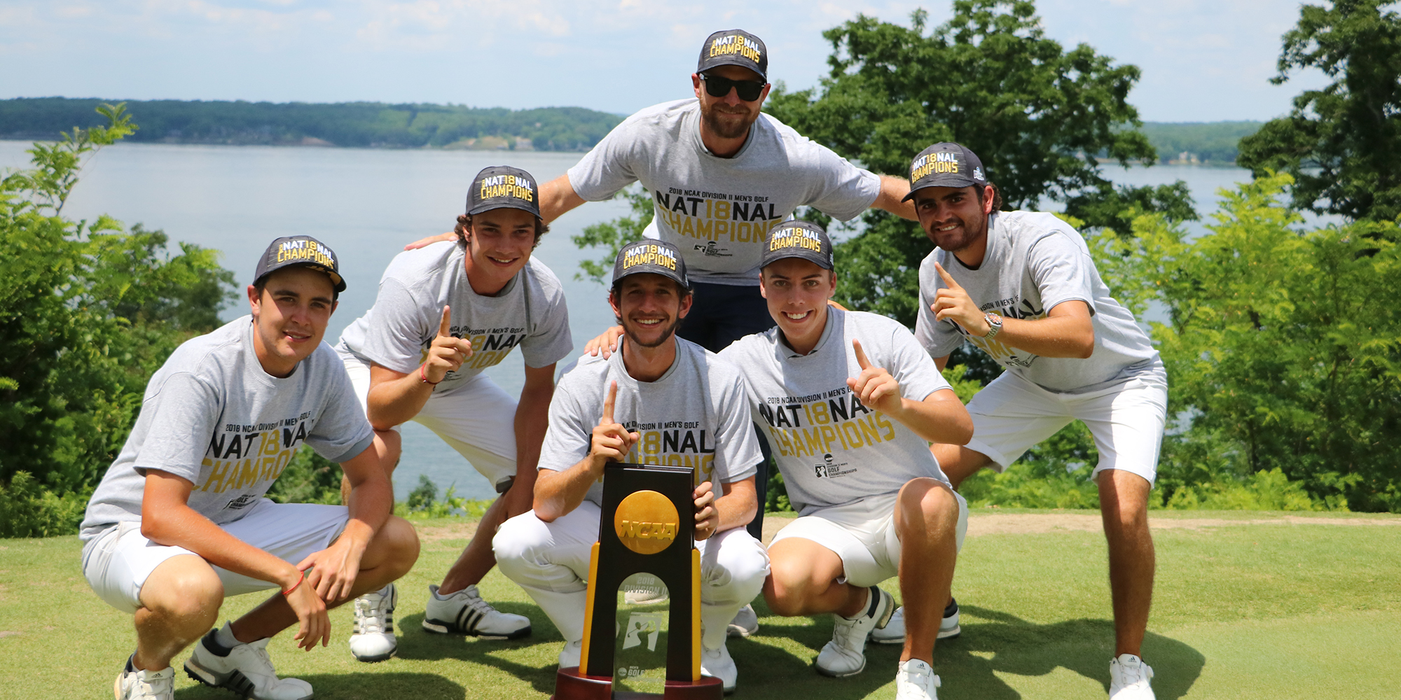 Men's Golf Bustos' a Move to Capture 2018 NCAA Division II National Title