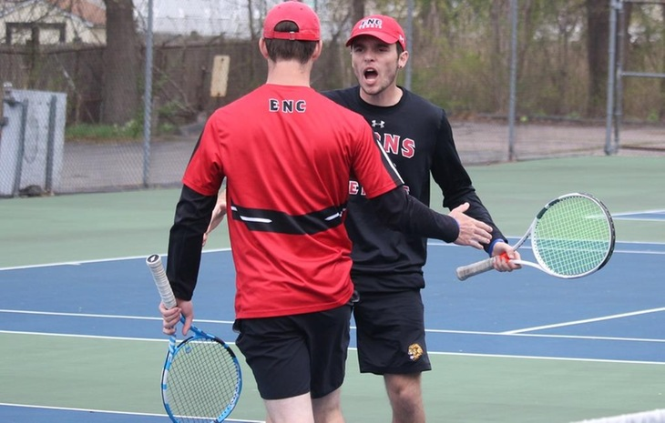 Men's Tennis Advances to GNAC Championship with Semifinal Victory Over Colby-Sawyer Saturday