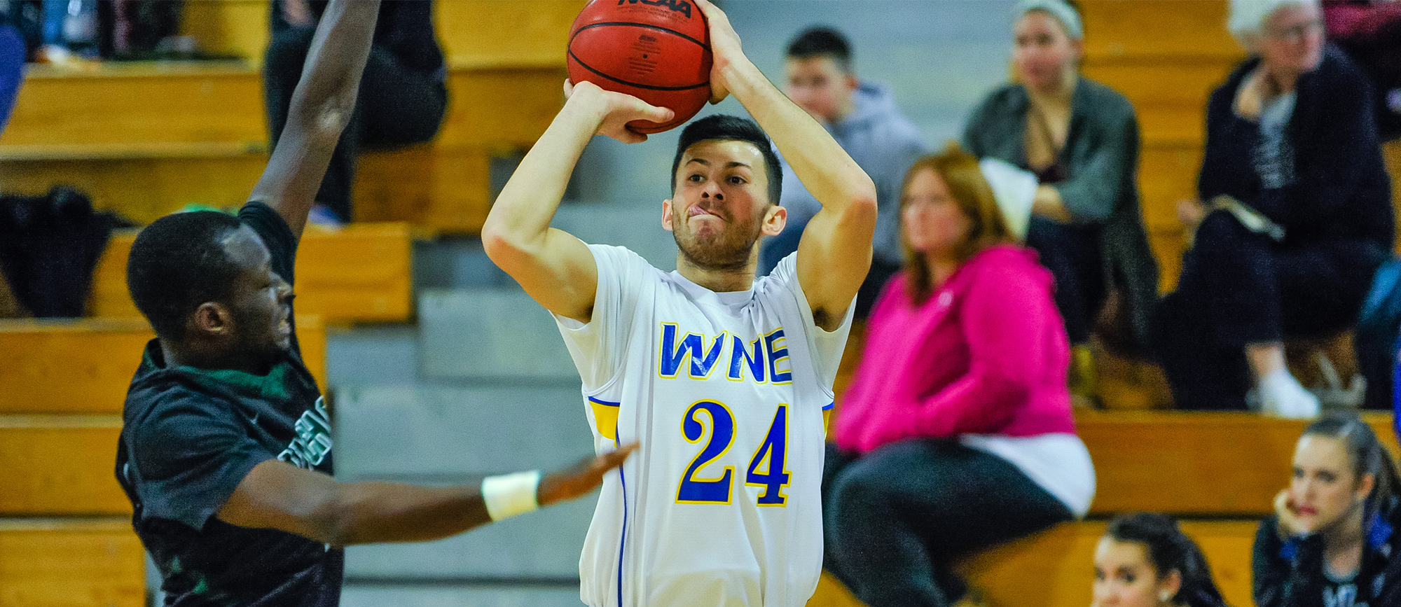 Springfield Pulls Away Late in 80-69 Win over Western New England