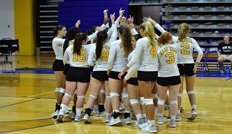 Volleyball match against Wingate postponed