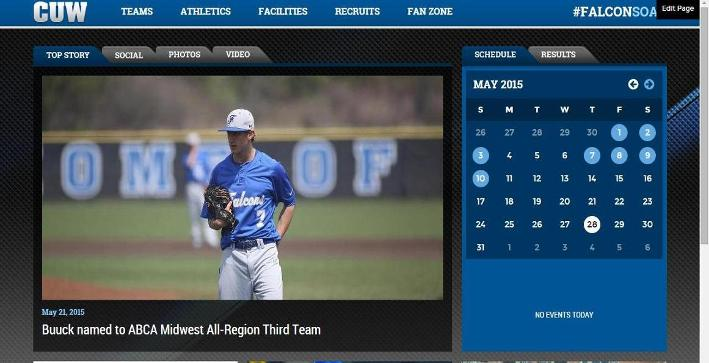 CUWFalcons.com launches redesign with PrestoSports