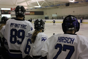 BIG win for CUW women's hockey