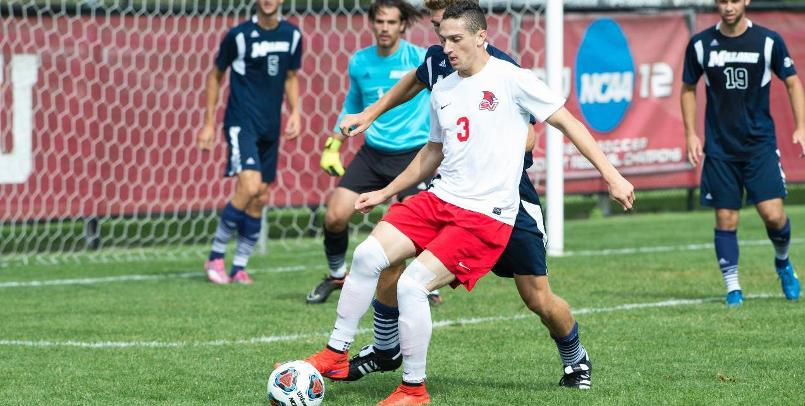 Jordan Kalk scored his 16th and 17th goals of the season in a 3-1 victory over Ohio Dominican on Friday...