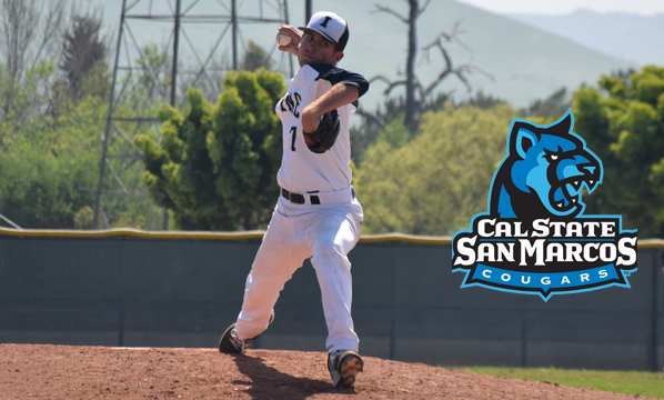 Baseball player John Stevens signs with Cal State San Marcos