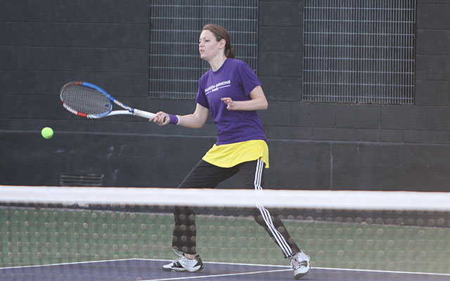 Cowgirl Tennis Splits Pair On Opening Day