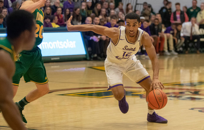Second-Half Run Pushes Purple Knights Past Post, 80-71