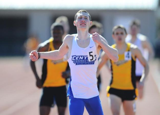 Men's Track & Field Takes Silver at AIC