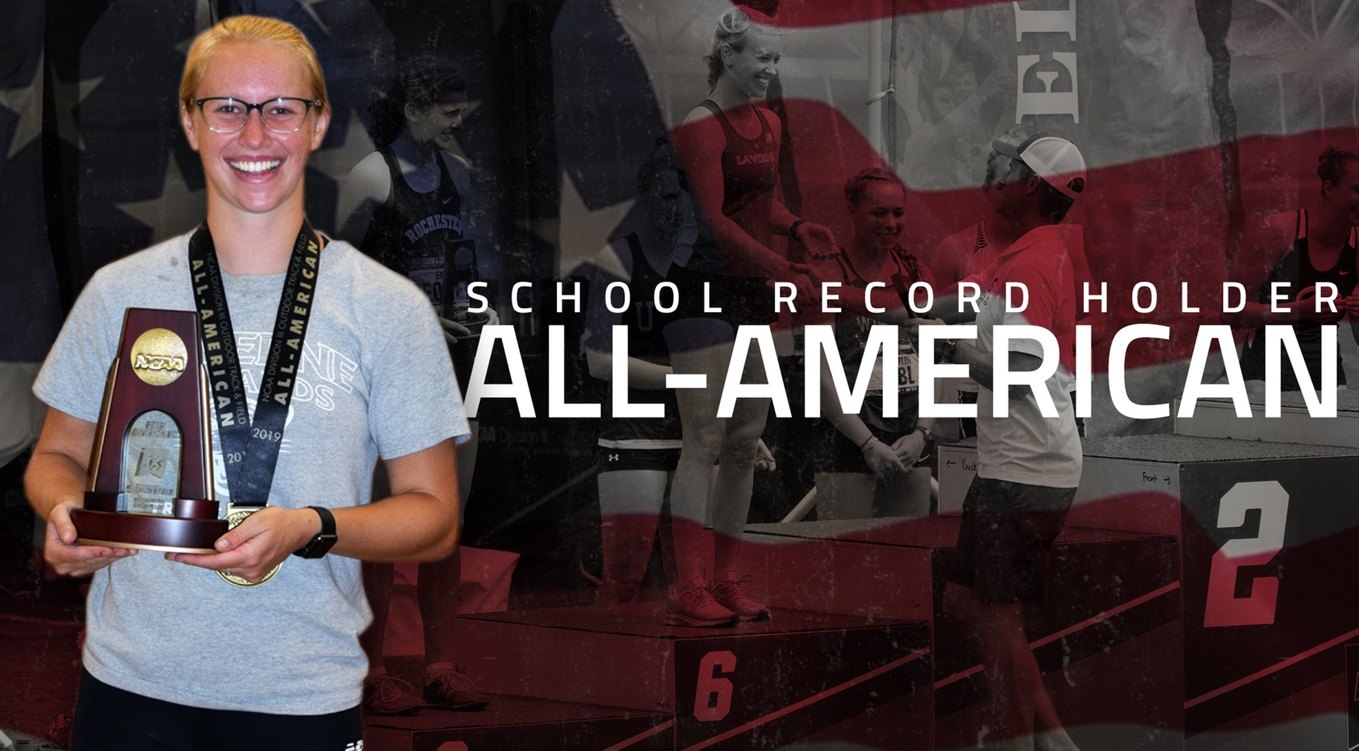 Prevedello earns All-American honors, sets school record