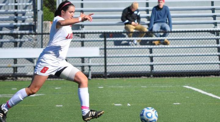 Women's Soccer Storms Past Becker, 6-1