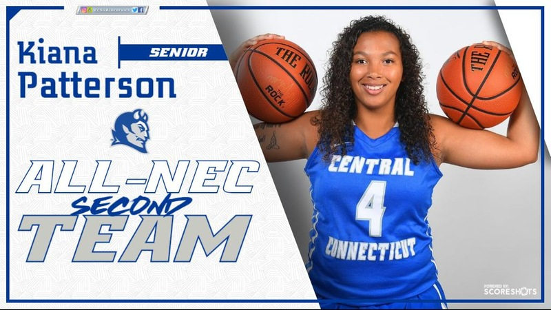 Patterson Earns All-NEC Second Team Honor