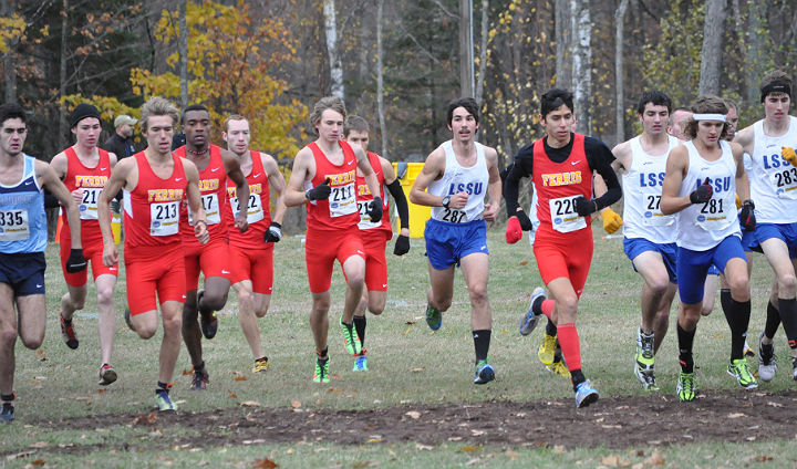 Bulldog Men Fifth, Women Seventh At GLIAC Championships; Johnson Wins Individual Crown!