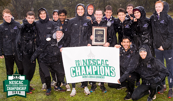 Amherst - 2018 NESCAC Men's Cross Country Champion