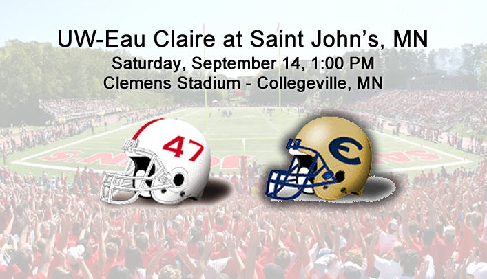 Football Preview: UW-Eau Claire at Saint John's (Minn.)