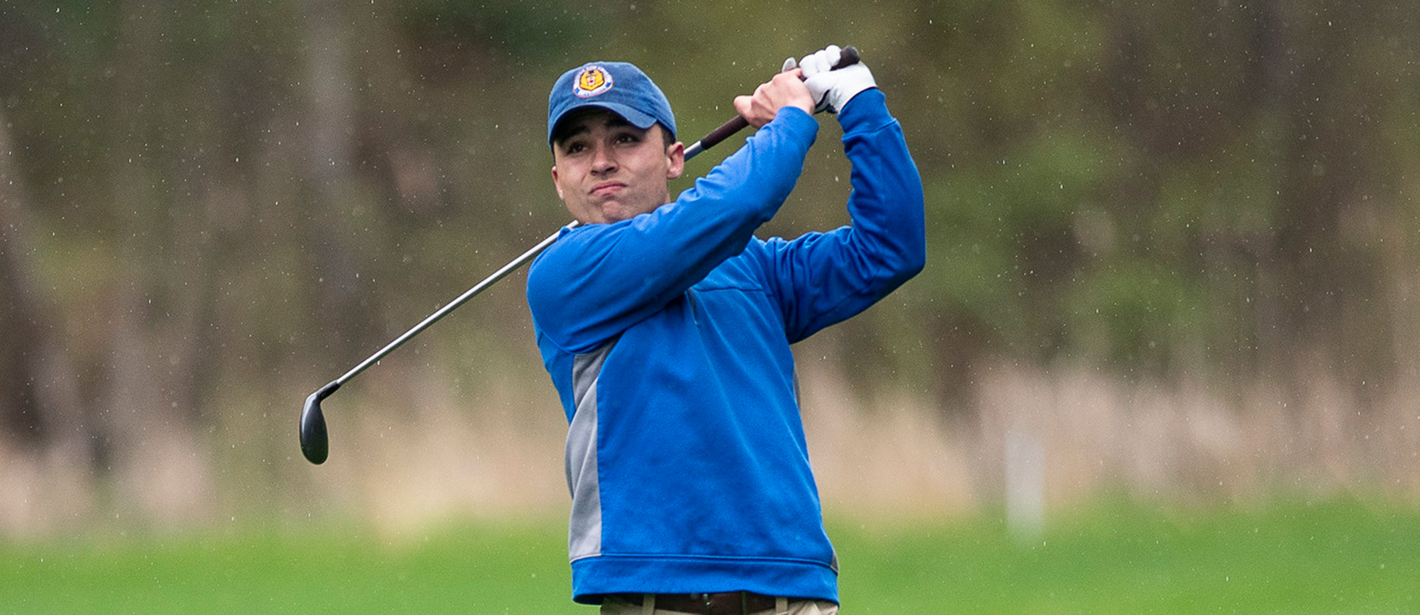 Cameron Cox is tied for second place at the NEIGA Championship after recording an even-par 72 on Sunday. (Photo by Ben Barnhart)