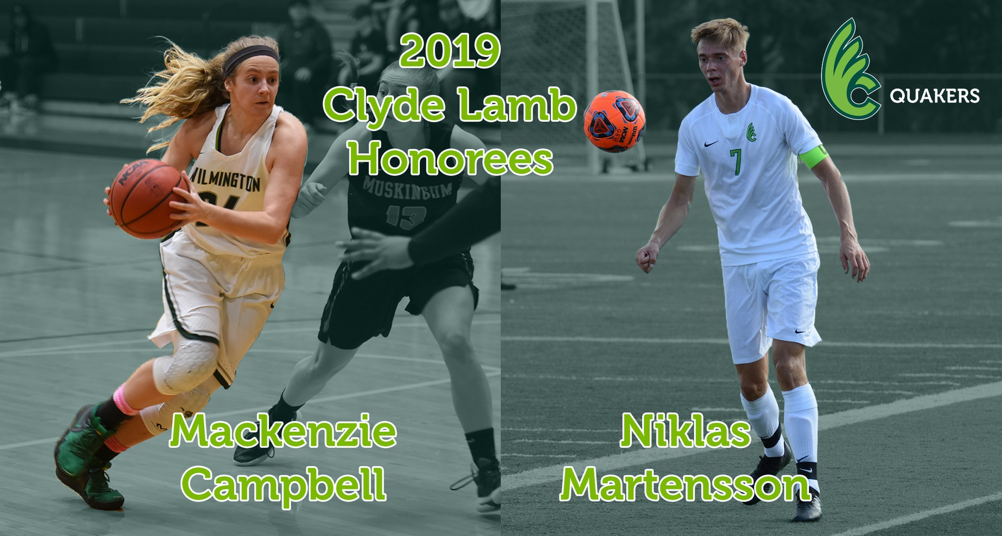 Campbell and Martensson To Receive Clyde Lamb Awards on May 13