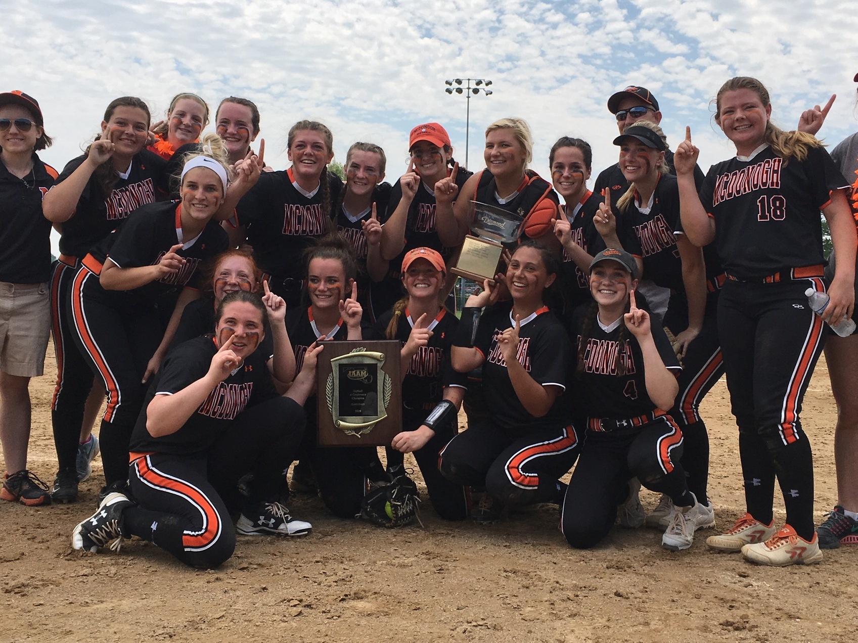McDonogh claims first A Conference softball title in 17 years