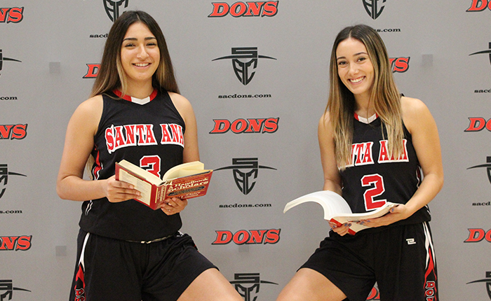 Three Dons Selected to CCCWBCA Academic All-State Team