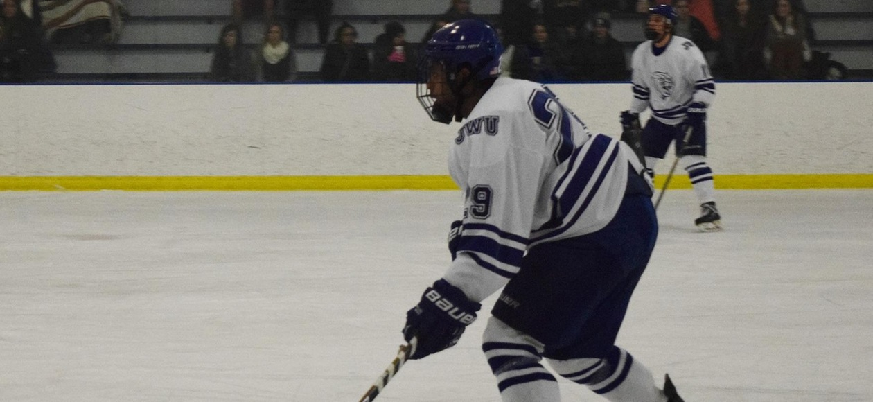 Curry Defeats JWU Men's Ice Hockey 6-3