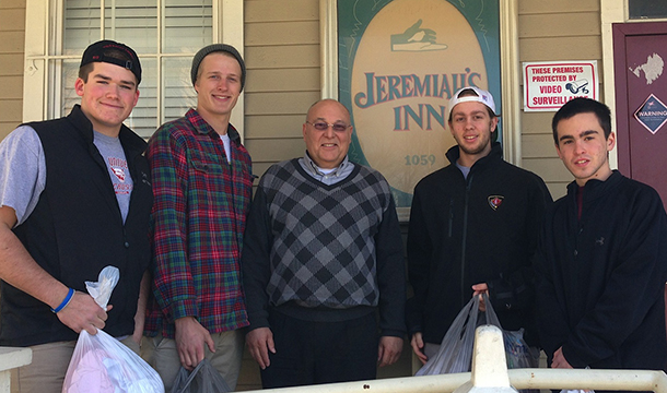 Clark Student-Athletes Host Fundraiser For Jeremiah's Inn