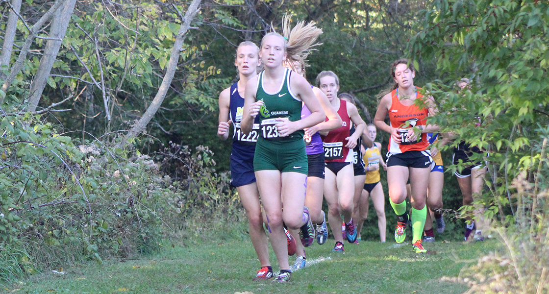 Helmke leads @DubC_XCTR women in JennaStrong