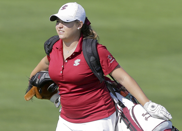 SCU's Balbina Guajardo In Position to Win 2012 Anteater Invitational