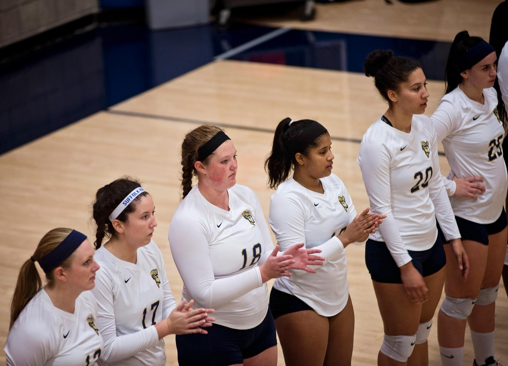Volleyball Closes Non-Conference Contests at UMass Dartmouth Thursday