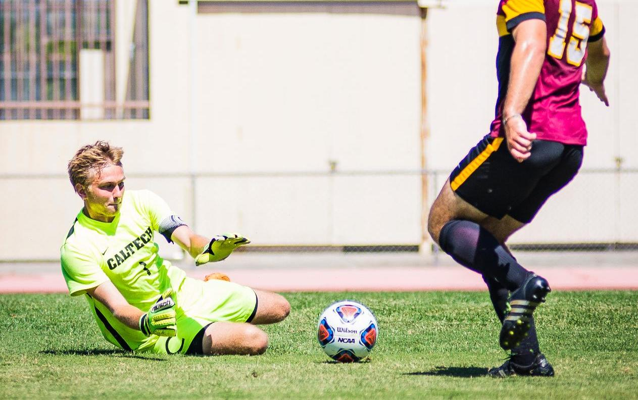 Men's Soccer Posts Second Half Shutout in Defeat