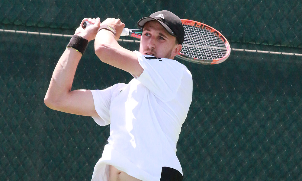 MEN'S TENNIS BEATS MONTANA STATE, ADVANCES TO BIG SKY TOURNEY SEMIFINALS