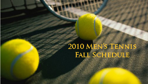 Fall tennis schedule has men's team playing tournaments in six  states