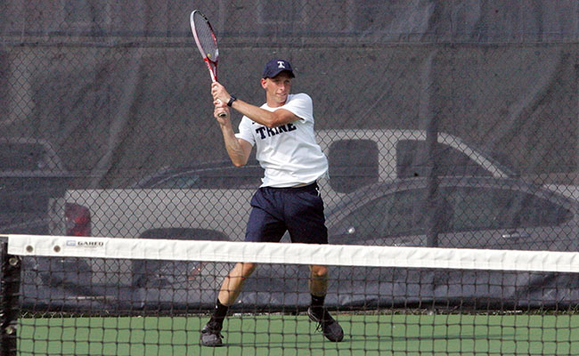 Men's Tennis Picks Up Second Win of Season
