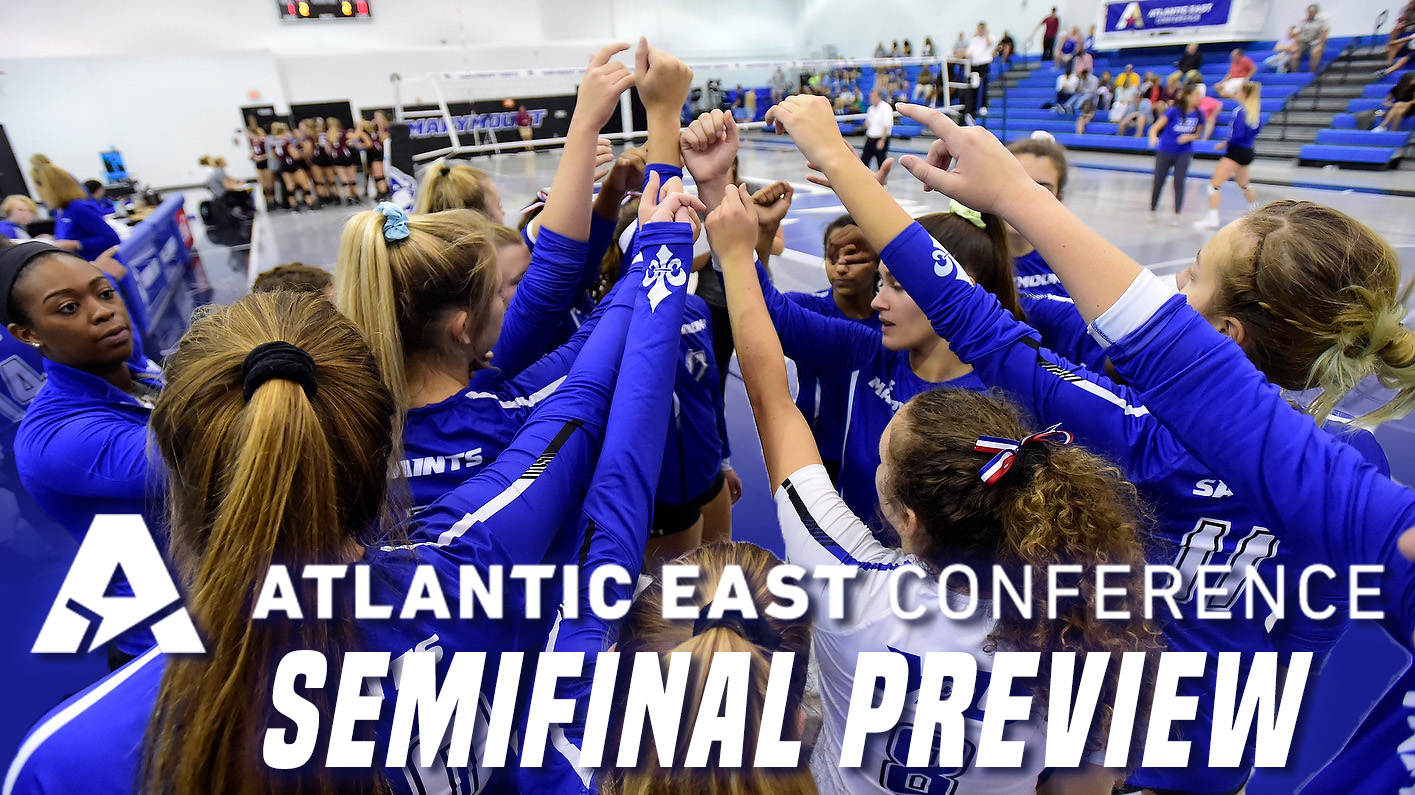 Women's volleyball set for Atlantic East semifinal showdown with Marywood