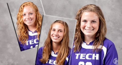 Three from women's soccer named to the All-Tournament team at Samford