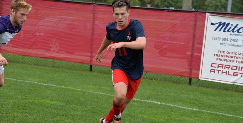 Late score gives Men's Soccer 3-2 victory at Ashland