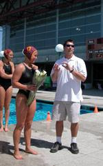 Bronco Women's Water Polo Wins Regular Season Finale
