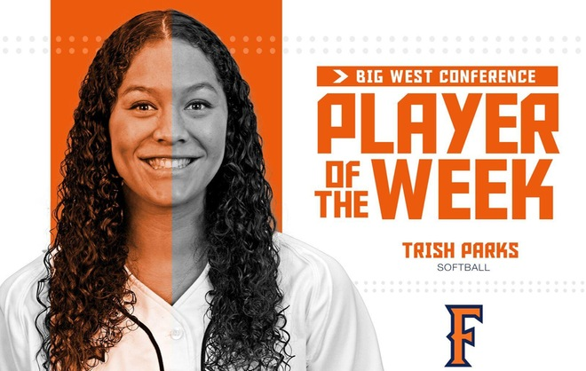 Parks Earns First Career Big West Pitcher of the Week