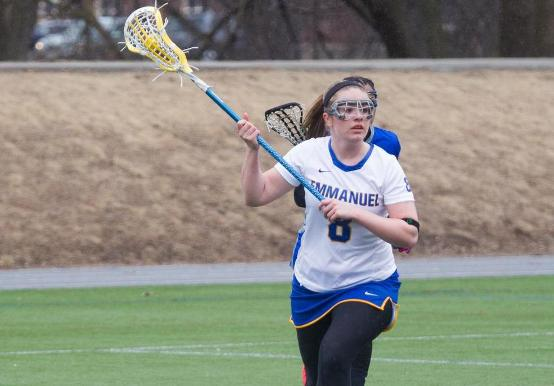 WOMEN'S LAX CLINCHES 1ST PLACE IN GNAC WITH 13-12 O.T. WIN