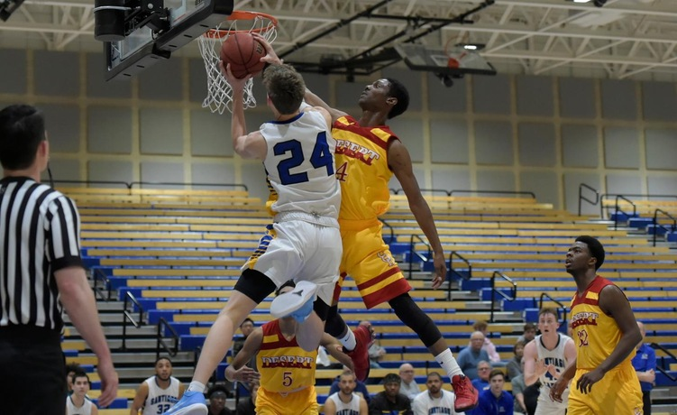 COD Men's Basketball gets back to even on season, shoots down Comets, 81-66