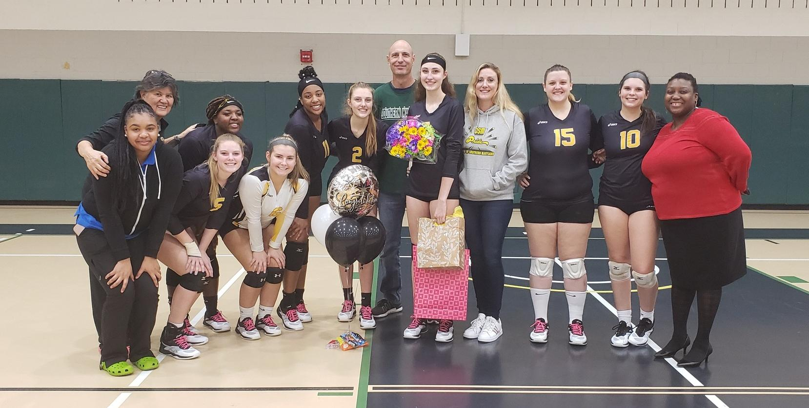Kluh Leads Hawks to Victory on Sophomore Night