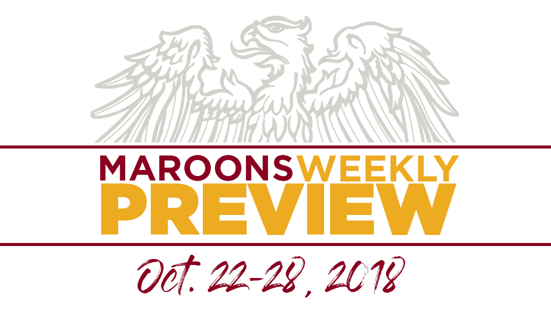 UChicago Athletics Preview: October 22-28