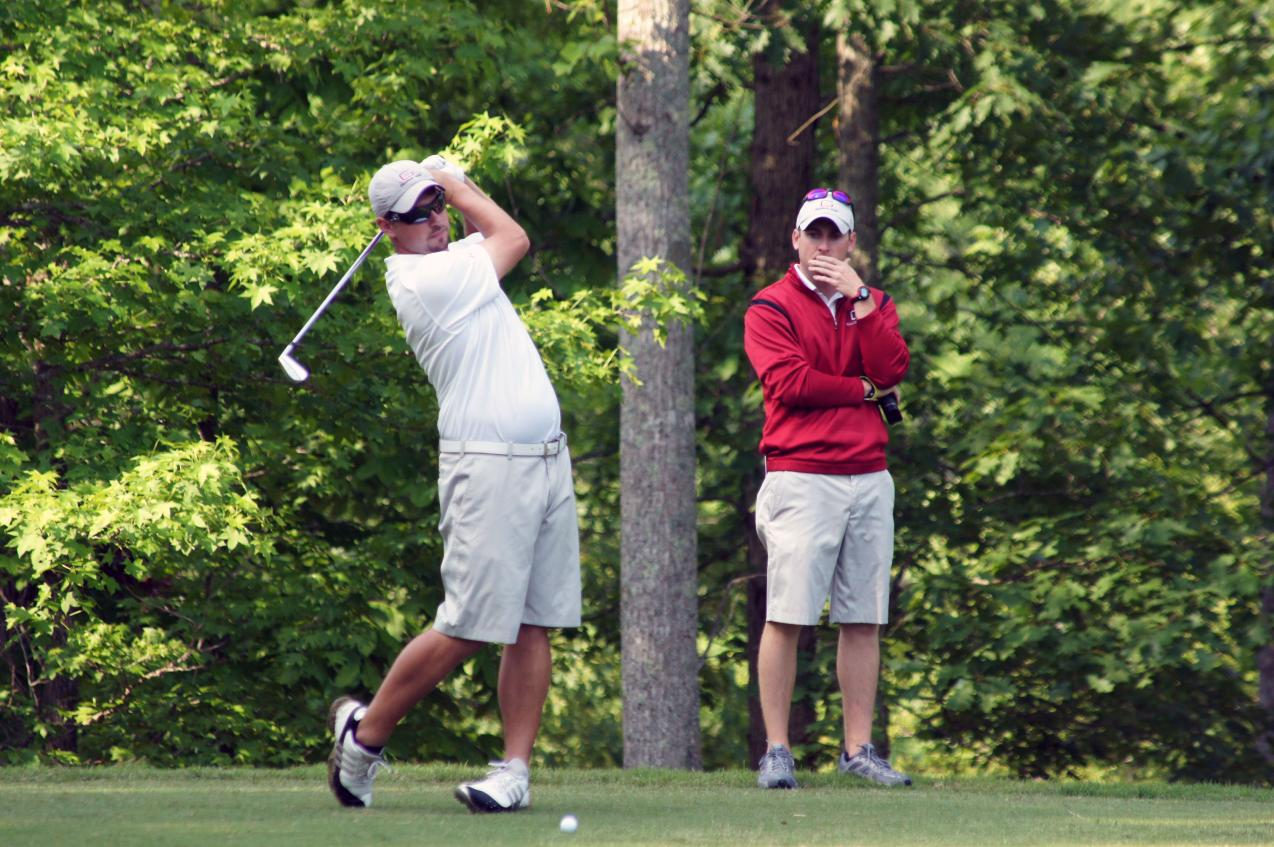 Guilford Wraps Up Second Day at Marine Federal Credit Union Intercollegiate