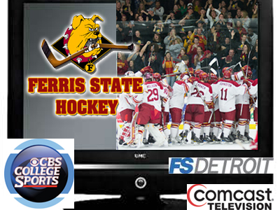 Nationally-Ranked Ferris State Hockey To Make Four Television Appearances In January
