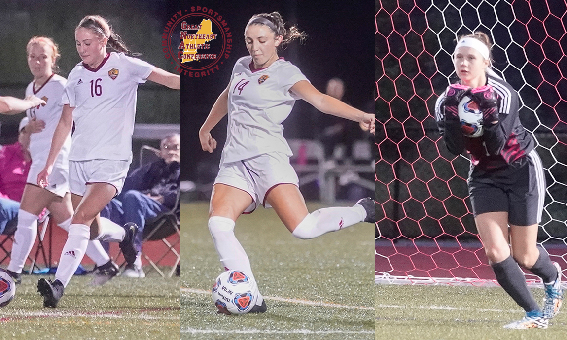 Regis Women's Soccer Trio Receives All-GNAC Honors